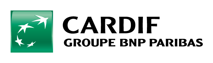 Logo Cardif groupe BNP partenaire de Quantalys Easypack