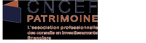 Logo de la CNCEF Patrimoine, partenaire de Quantalys Inside