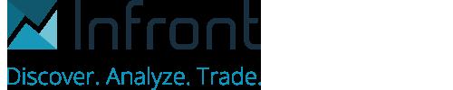 Logo Infront, sponsor de l'événement quantalys inside